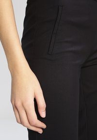 YAS Tall - YASPEYTON ECCO - Trousers - black - 4