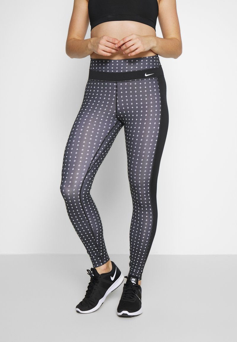 Nike Performance - ONE - Punčochy - black/white