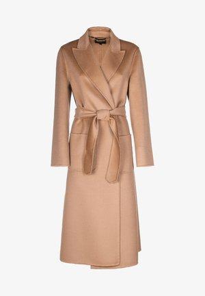 SCUDO - Classic coat - cammello