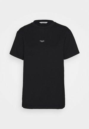 OSLO TEE - T-shirt basic - black