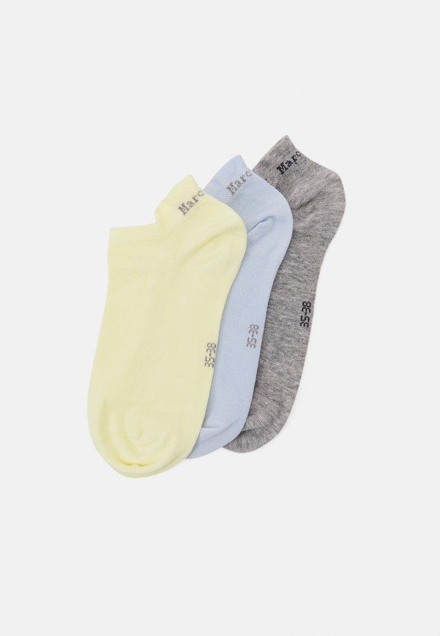 SNEAKER 3 PACK  - Sokken - hellblau