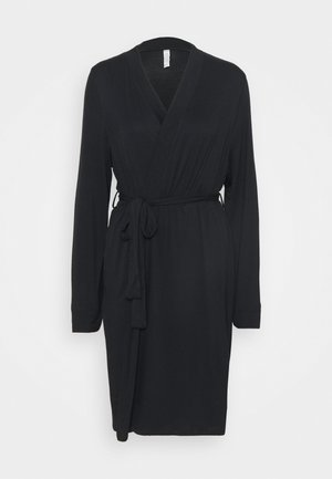 SLEEP RECOVERY MATERNITY GOWN - Dressing gown - black