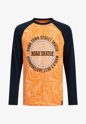 JONGENS MET DESSIN - Langærmede T-shirts - bright orange
