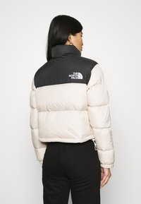 The North Face - NUPTSE CROP - Down jacket - pink tint - 2