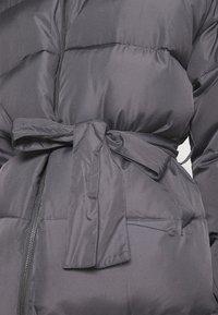 Who What Wear - ZIP FRONT PUFFER JACKET - Winter jacket - slate - 6