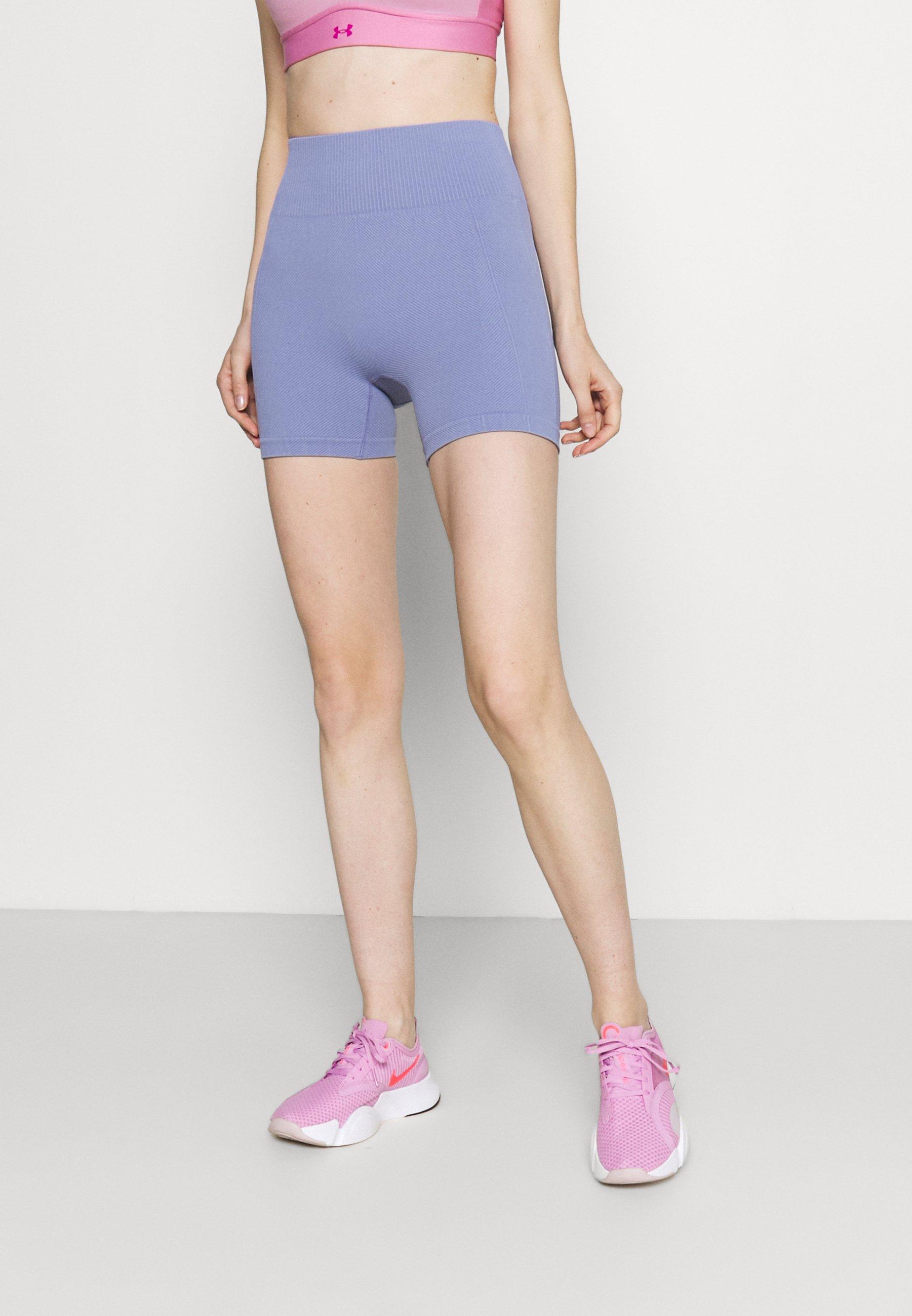 Women LIFESTYLE SEAMLESS SHORTIE SHORT - Leggings - periwinkle