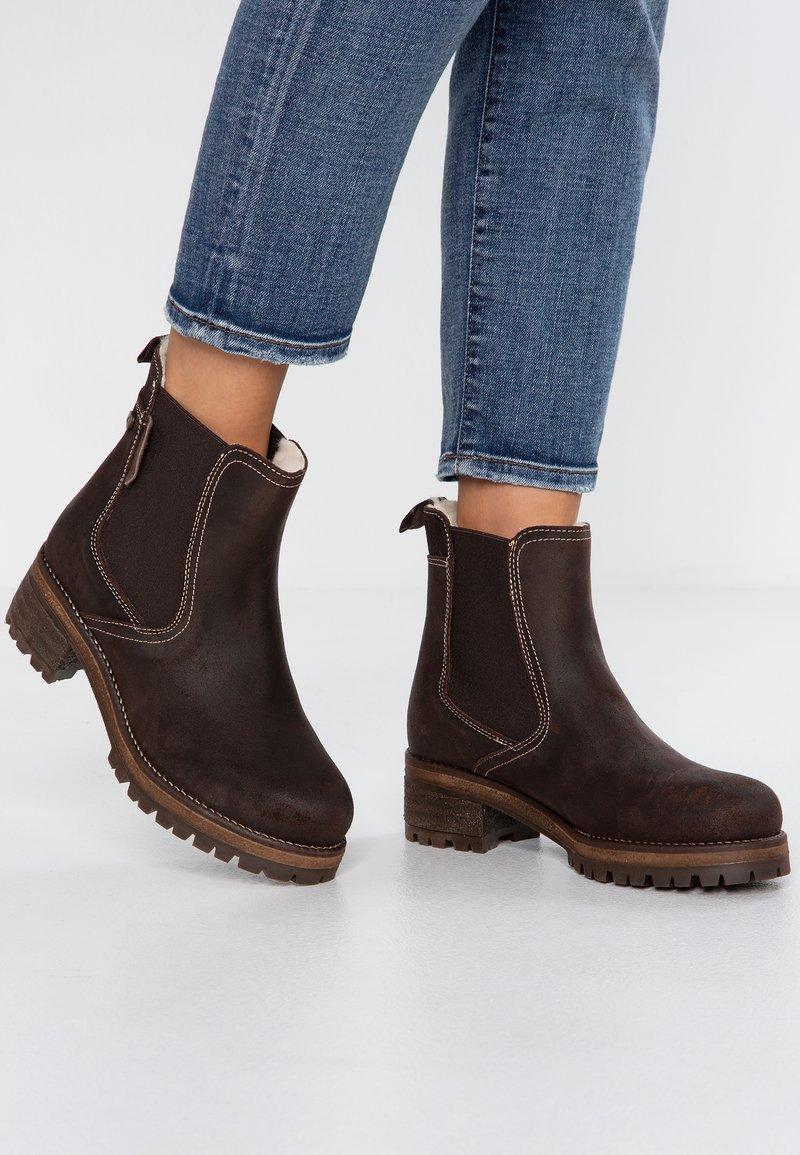 Shepherd - LOTTA - Classic ankle boots - moro