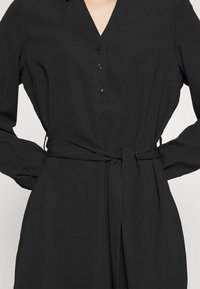 Vero Moda - VMBOA SHORT DRESS - Shirt dress - black - 6