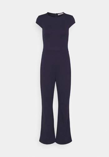 CAP SLEEVES PUNTO WIDE LEG - Overall / Jumpsuit - dark blue