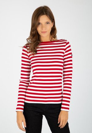 ERQUY - Long sleeved top - braise / blanc