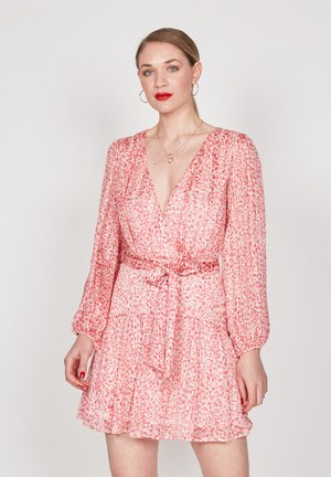 Day dress - coral