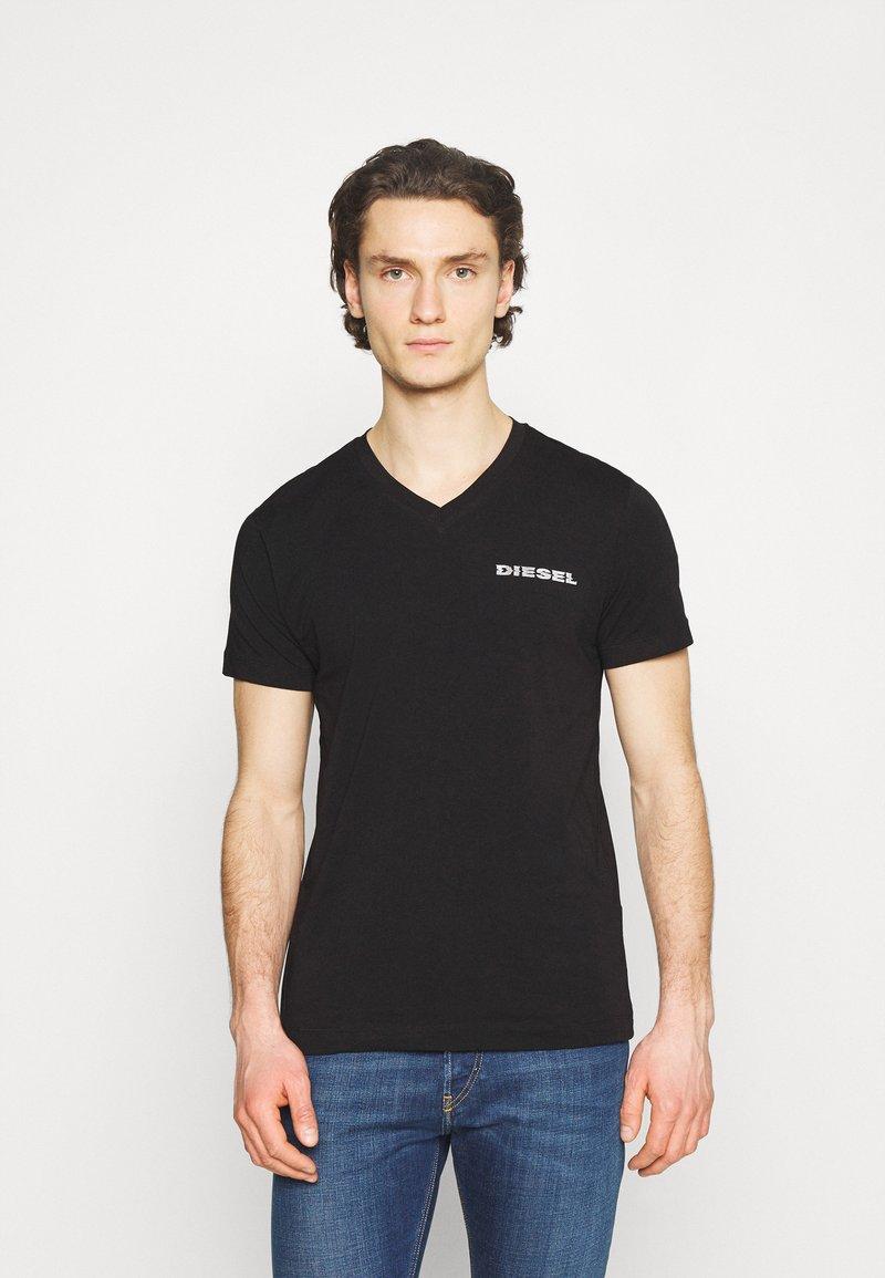 Diesel - UMLT-DIEGOS-J-V T-SHIRT - Print T-shirt - black