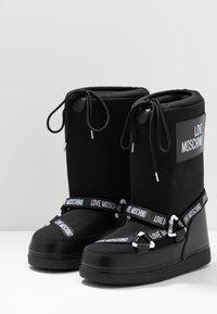 Love Moschino - SKI BOOT - Winter boots - black - 4