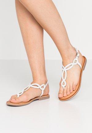 FYFFE - Sandály s odděleným palcem - blanco