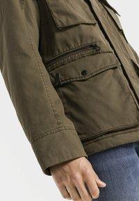 camel active - FIELD JACKET - Summer jacket - olive - 4