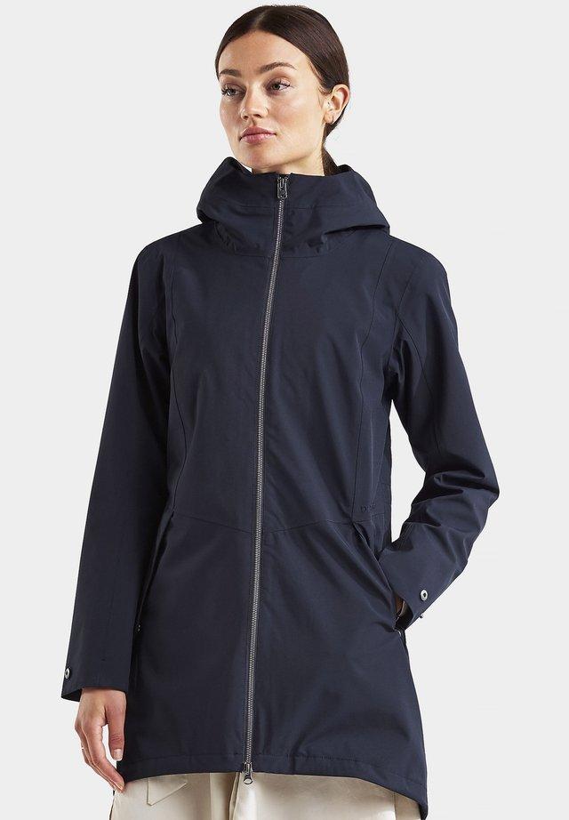 FOLKA - Outdoor jacket - dark night blue