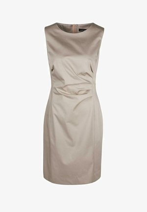 Day dress - simply taupe