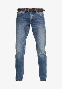 s.Oliver - Jeans Straight Leg - blue denim - 4