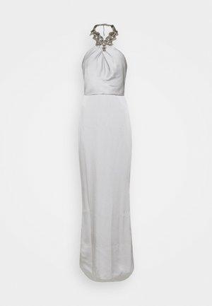 Společenské šaty - silver