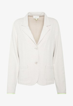 Blazer - beige/white