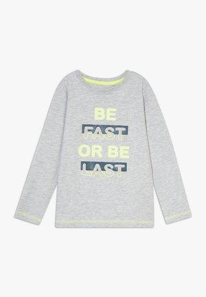 KIDS GREY BE FAST OR BE LAST  - Maglietta a manica lunga - nebel orig