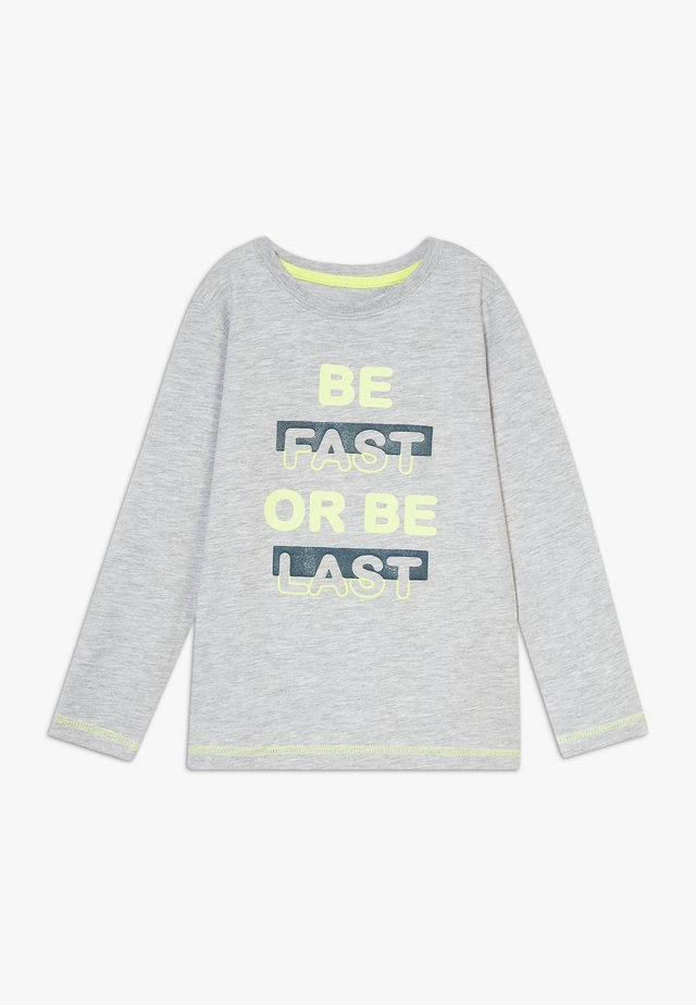 KIDS GREY BE FAST OR BE LAST  - Longsleeve - nebel orig