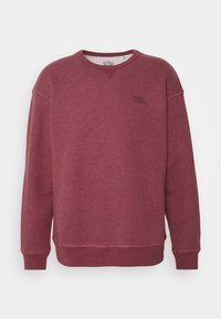 Levi's® - PREMIUM HEAVYWEIGHT CREW - Felpa - biking red heather - 4