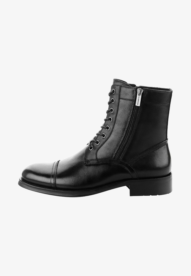 CALIBANO - Lace-up ankle boots - black