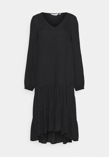 SMOCK DRESS - Day dress - black