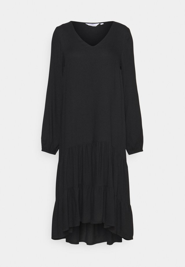 SMOCK DRESS - Korte jurk - black
