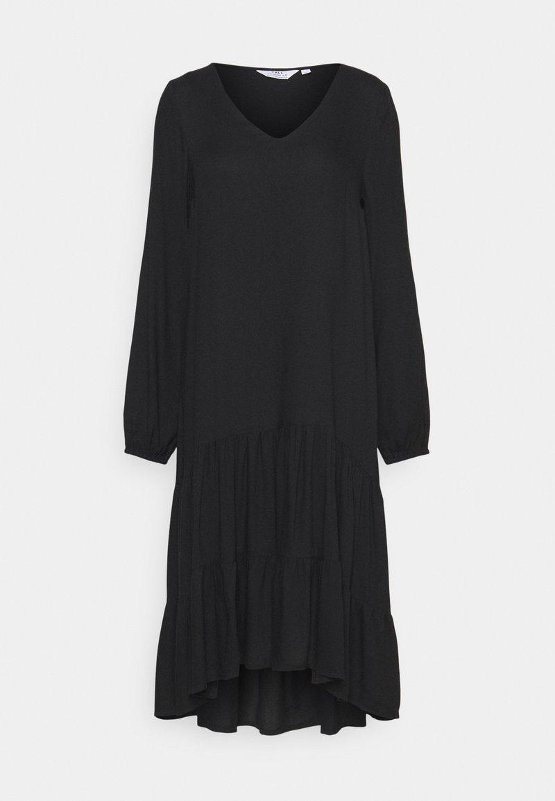 Dorothy Perkins Tall - SMOCK DRESS - Day dress - black