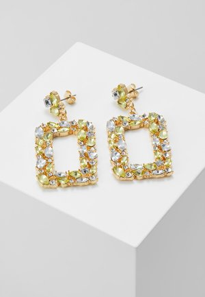 PCTULLI EARRINGS - Øredobber - gold-coloured