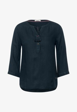IN UNIFARBE - Blouse - blau
