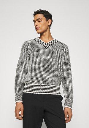 Pullover - black/avorio