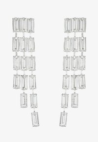 Pieces - PCORIA EARRINGS KEY - Náušnice - silver-coloured - 3