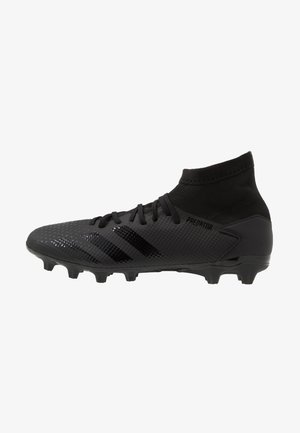 PREDATOR 20.3 MG - Moulded stud football boots - core black/dough solid grey