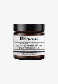 Dr Botanicals - INTELLIGENT EXFOLIATING TEA TREE AND QUARTZ FACIAL SCRUB 50ML - Face scrub - - - 0