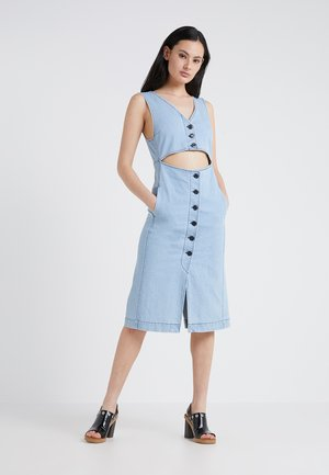Denim dress - poetic blue