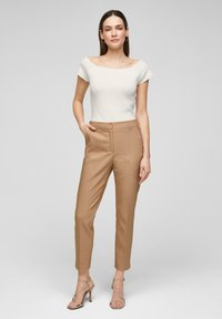 s.Oliver - Basic T-shirt - white - 1