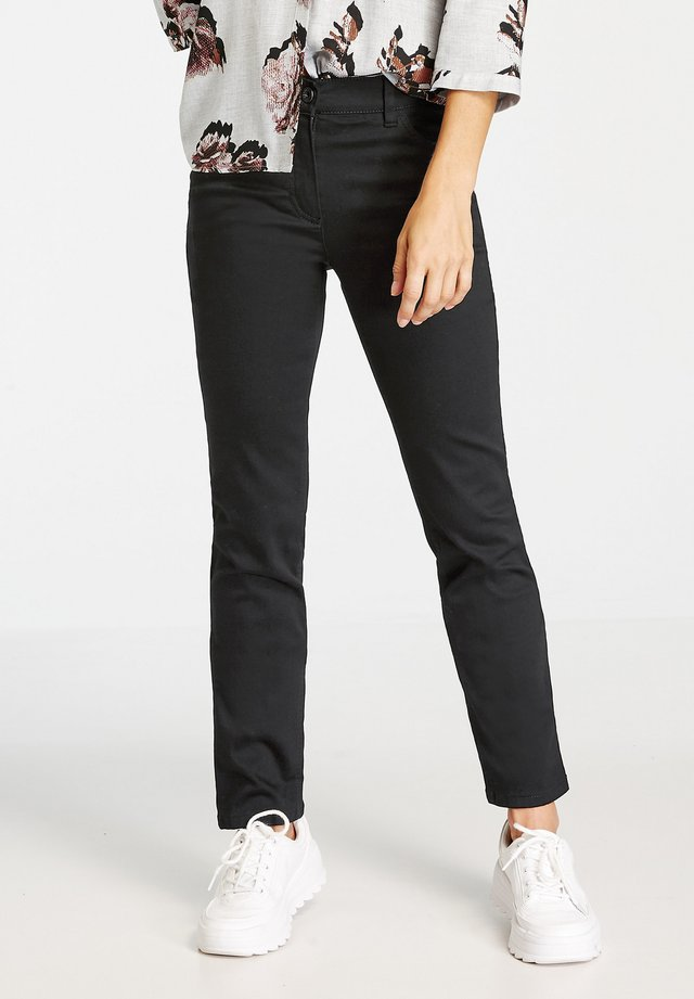 MIT STRETCHKOMFORT - Jean droit - black black denim