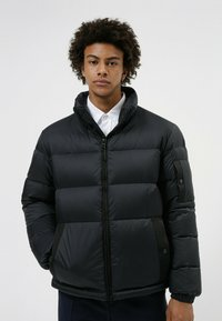 HUGO - BIRON - Down jacket - black - 0