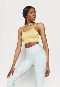 Cotton On Body - REVERSIBLE 7/8 - Leggings - mint chip - 4