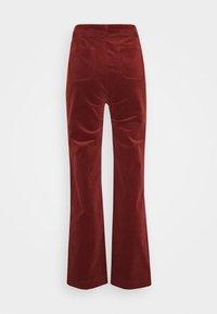 King Louie - GARBO POCKET PANTS CORDUROY - Trousers - sandelwood brown - 1