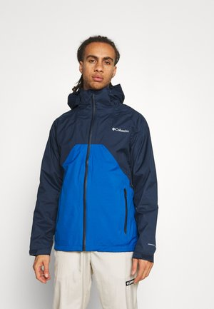 RAIN SCAPE JACKET - Waterproof jacket - collegiate navy/bright indigo