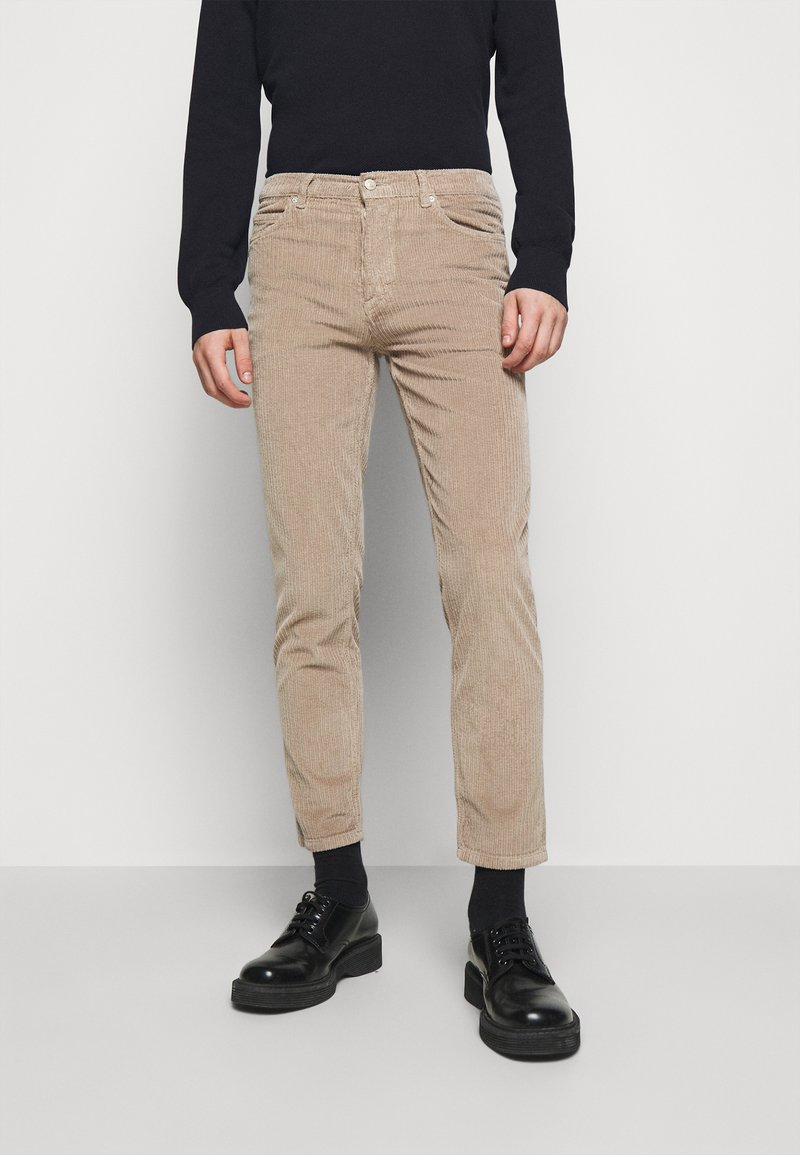 HUGO - Trousers - light pastel brown