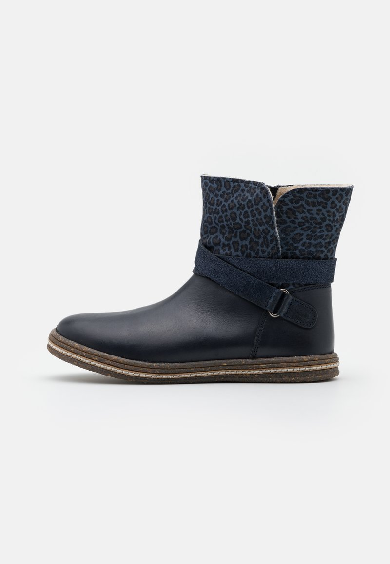 Friboo - Korte laarzen - dark blue