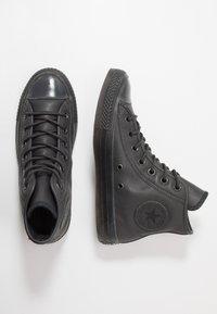 Converse - CHUCK TAYLOR ALL STAR - Höga sneakers - almost black - 1