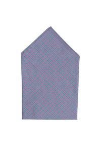 Hans Hermann - EINSTEIN - Pocket square - grau/pink - 1