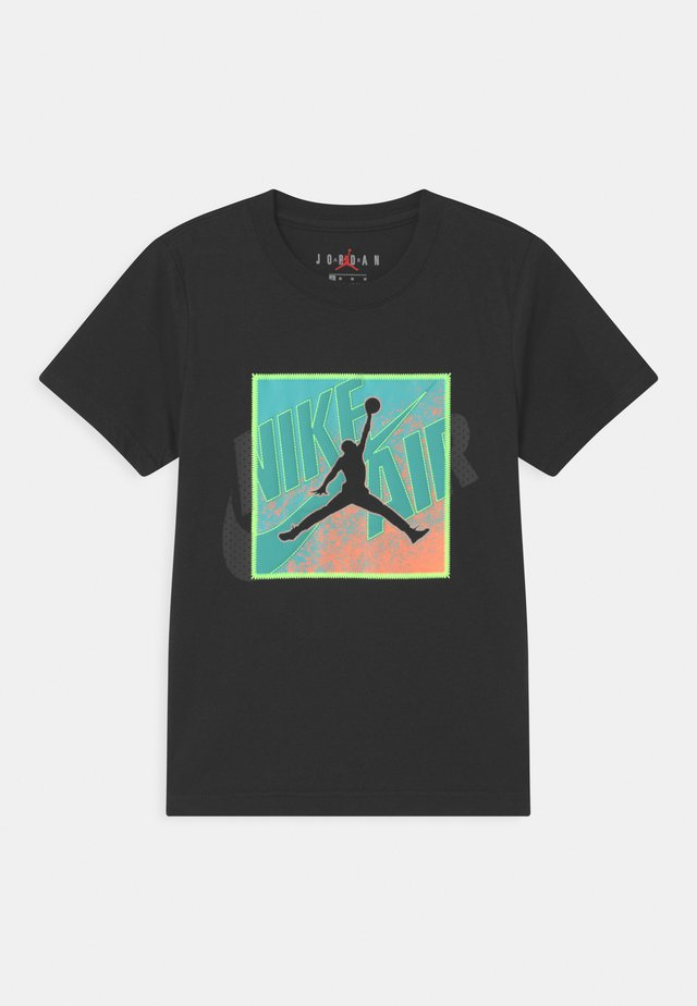 PATCH OVER - T-shirt print - black