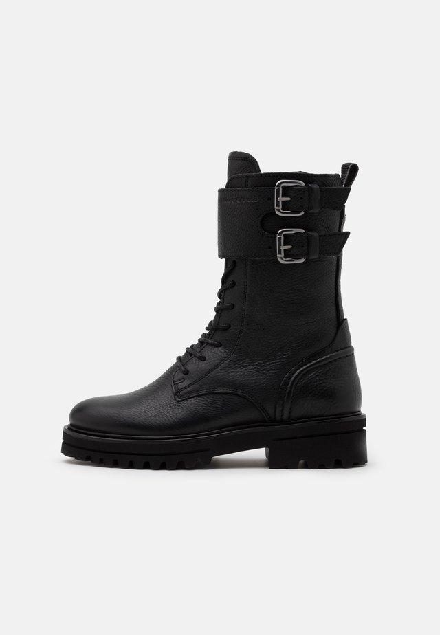 LICIA - Platform boots - black